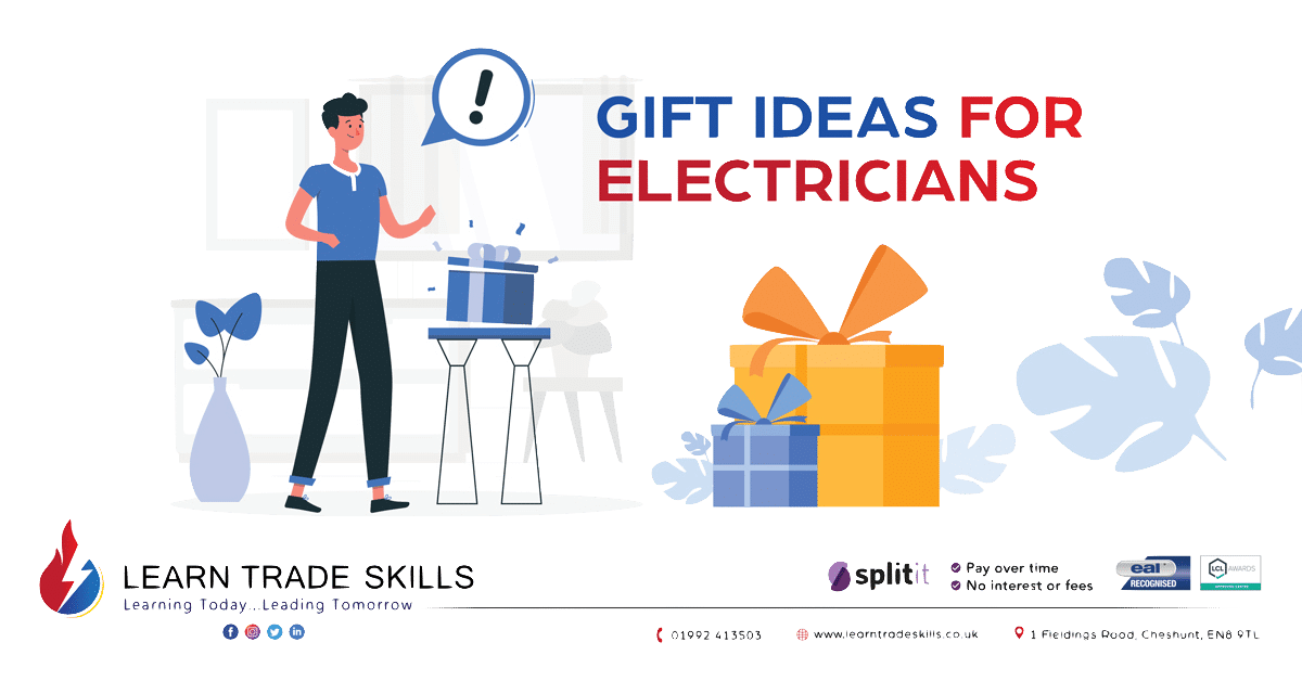 Leanr Trade Skills - Gift Ideas For Electricians - Electrical Courses - Electrician Training