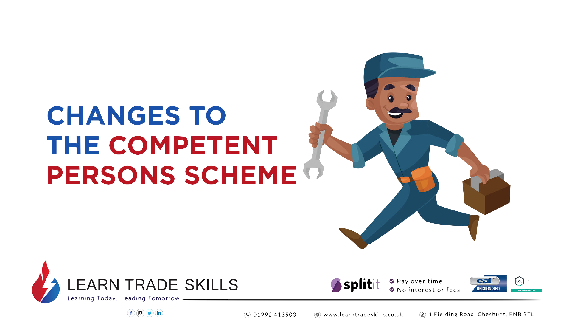 Changes to the competent persons scheme